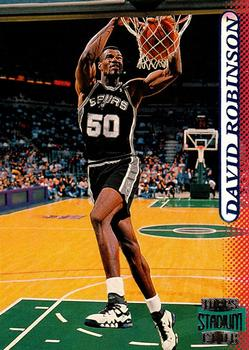 1996-97 Stadium Club #78 David Robinson Front