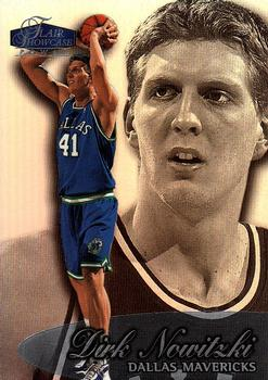 1998-99 Flair Showcase #16 Dirk Nowitzki Front