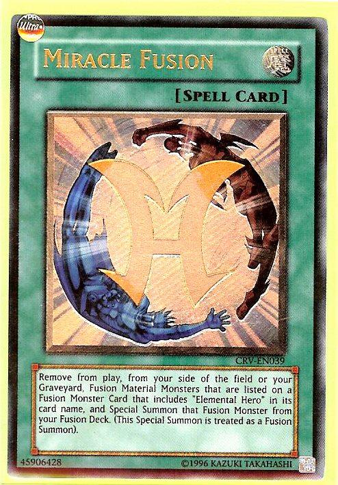 Yugioh Cybernetic Magician CRV-EN016 1st Ultimate Rare Near Mint Fast Shipping!