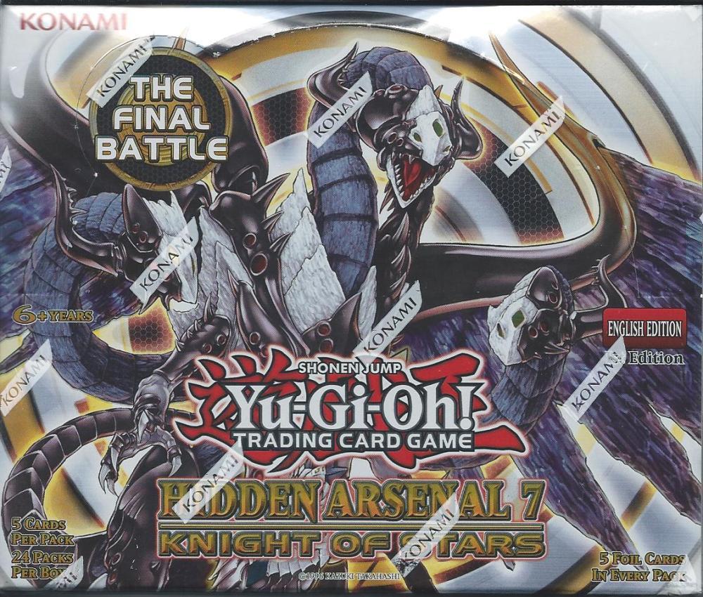 Hidden Arsenal 7 Knight Of Stars Trading Card Mint