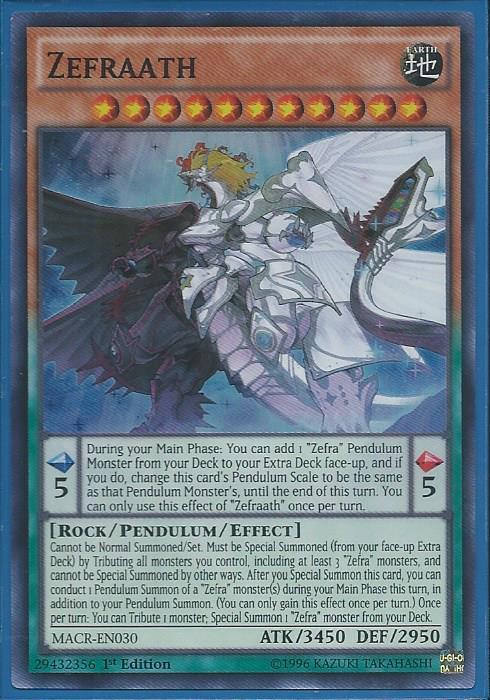 Macr En030 Zefraath Super Rare Maximum Crisis