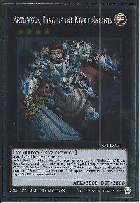 Details about  / NKRT-EN017 Yu-Gi-Oh Platinum Rare Last Chapter of the Noble Knights