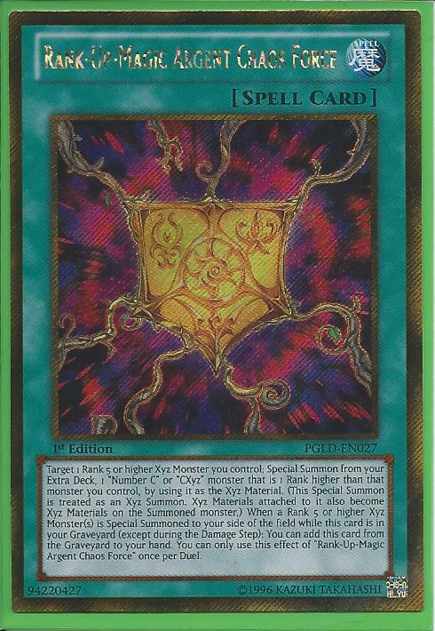1st Edition x3 Near Mint PGLD-EN026 Tri-Edge Levia Gold Secret Rare