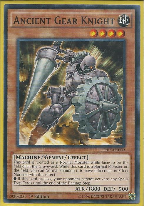 SR03-EN005 Ancient Gear Golem – Common - Structure Deck: Machine