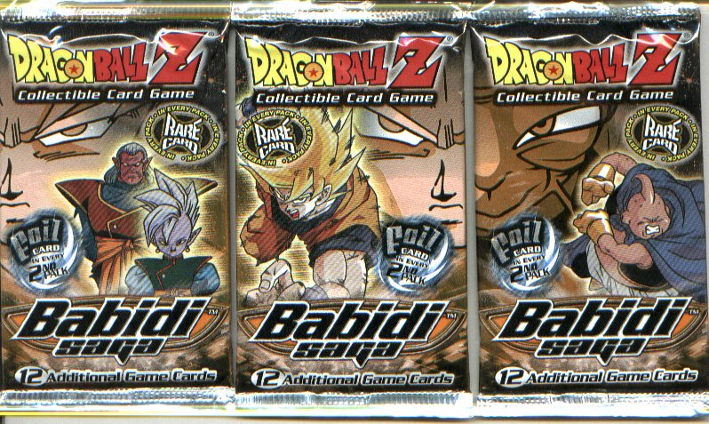 BABIDI SAGA SEALED BOOSTER PACK/12 CARDS PER PACK - Dragon ...
