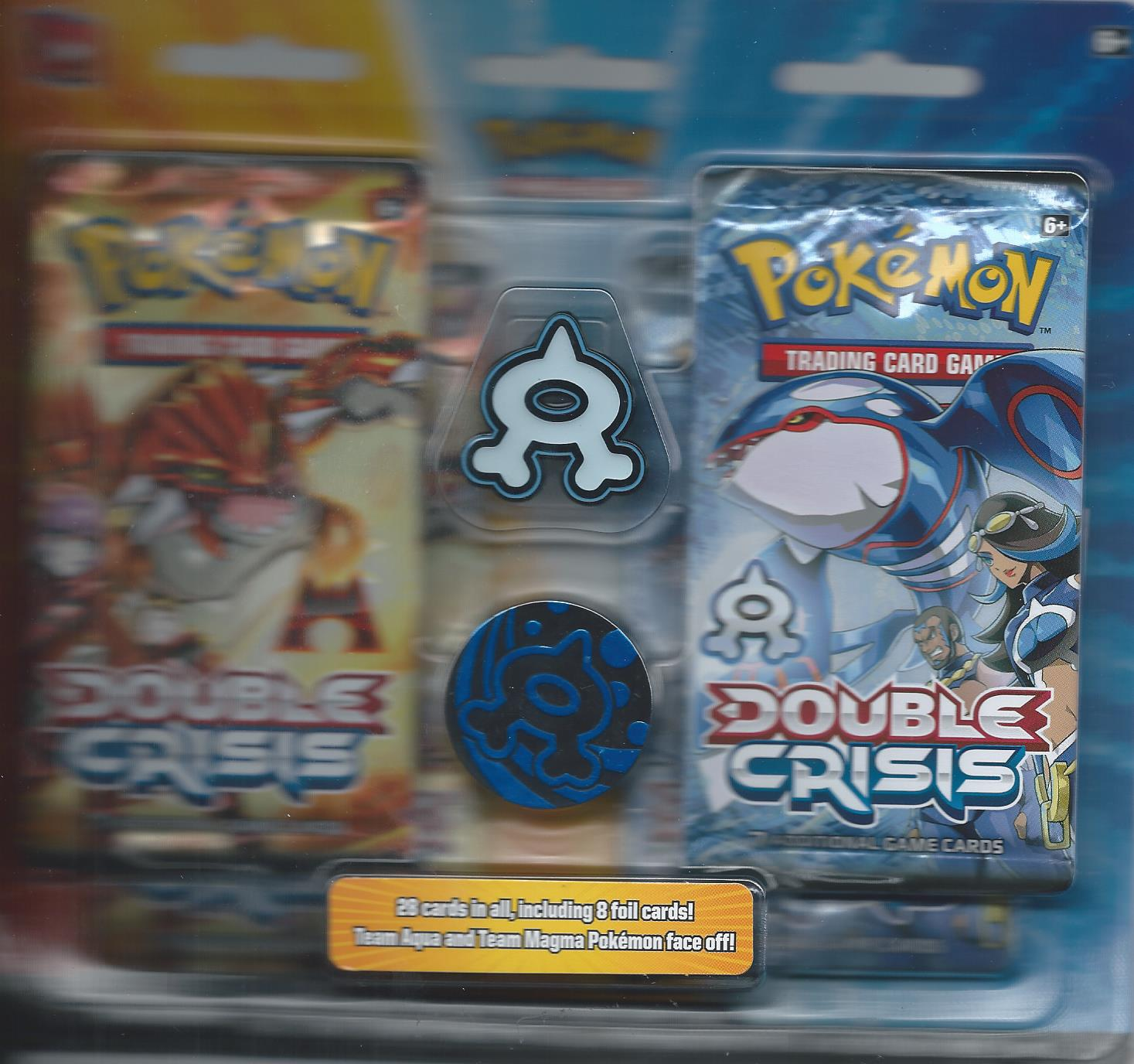 Double Crisis Rival Ambitions Team Aqua Blister Pack IN STOCK 99