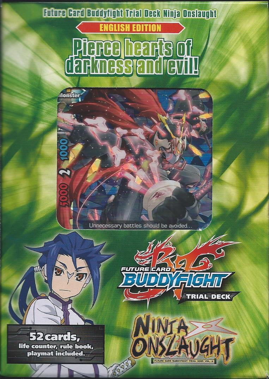 future card buddyfight trial deck ninja onslaught in stock