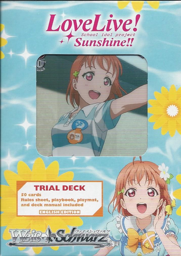 Trial Deck+ Plus English Deck Love Live Sunshine! Weiss Schwarz