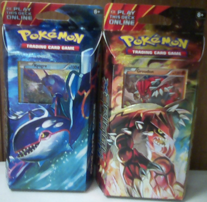 XY PRIMAL CLASH THEME DECK BUNDLE, INCLUDES: EARTH'S PULSE & OCEAN'S CORE  THEME DECKS!!!
