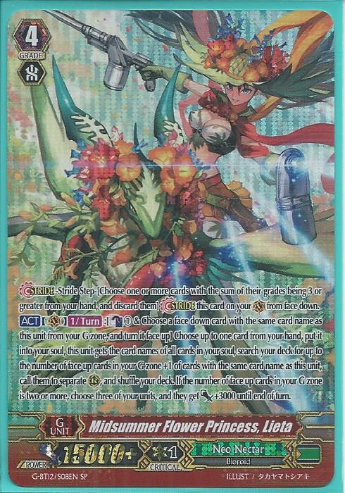 Cardfight! Vanguard G-BT12 Neo Nectar common set 4 of each card of 40