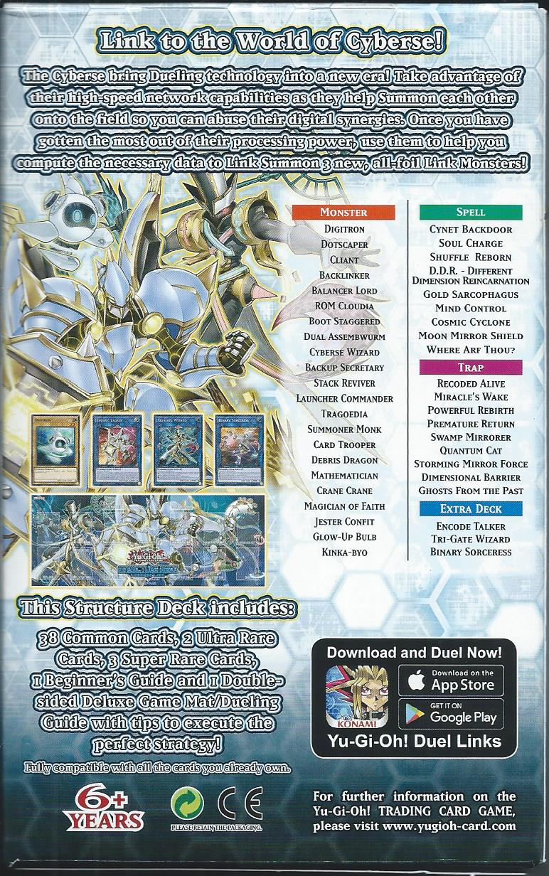 Cyberse Link Structure Deck, In Stock!