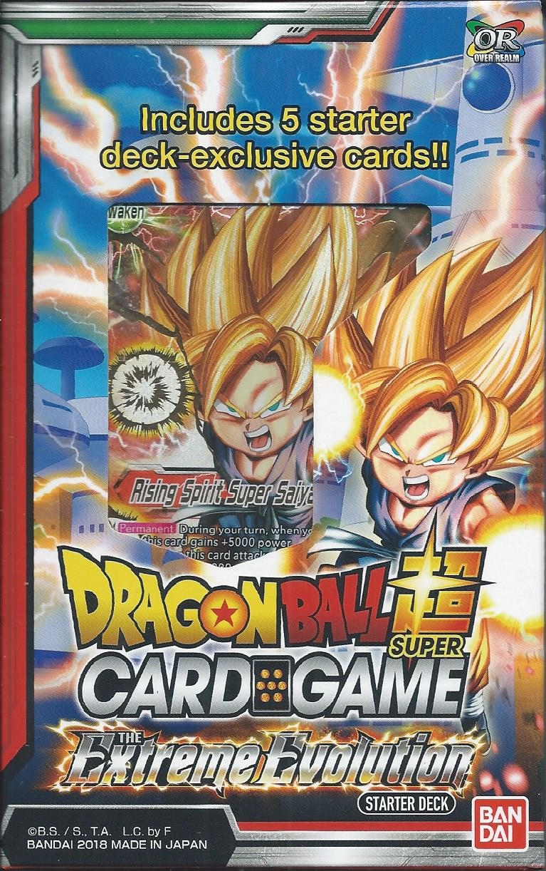 DragonBall Super Card Game The Extreme Evolution Starter Deck, In Stock!!!