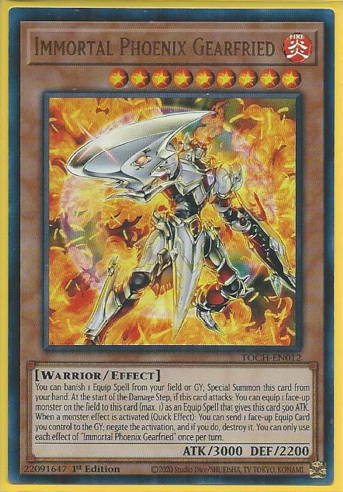 TOCH-DE007 Toon Chaos TOCH - Ultra Rare DE NM Chaos-Daedalus