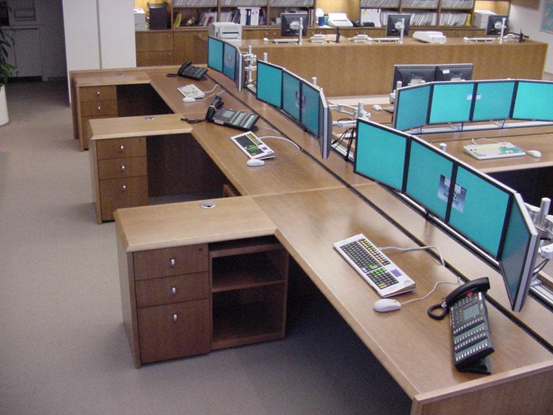 Wall Street Trading Desks