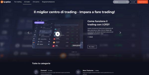 IQ Option Centro di Trading