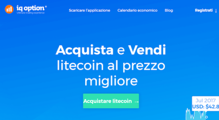 Acquista e vendi Litecoin IQ Option