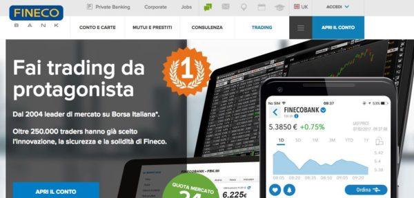 f05ce271ae Fineco Trading: come funziona - Guida al trading online