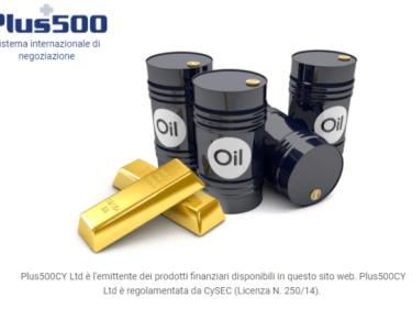 Plus500 Petrolio Trading Online