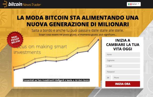 Bitcoin News Trader Cosa è come Funziona