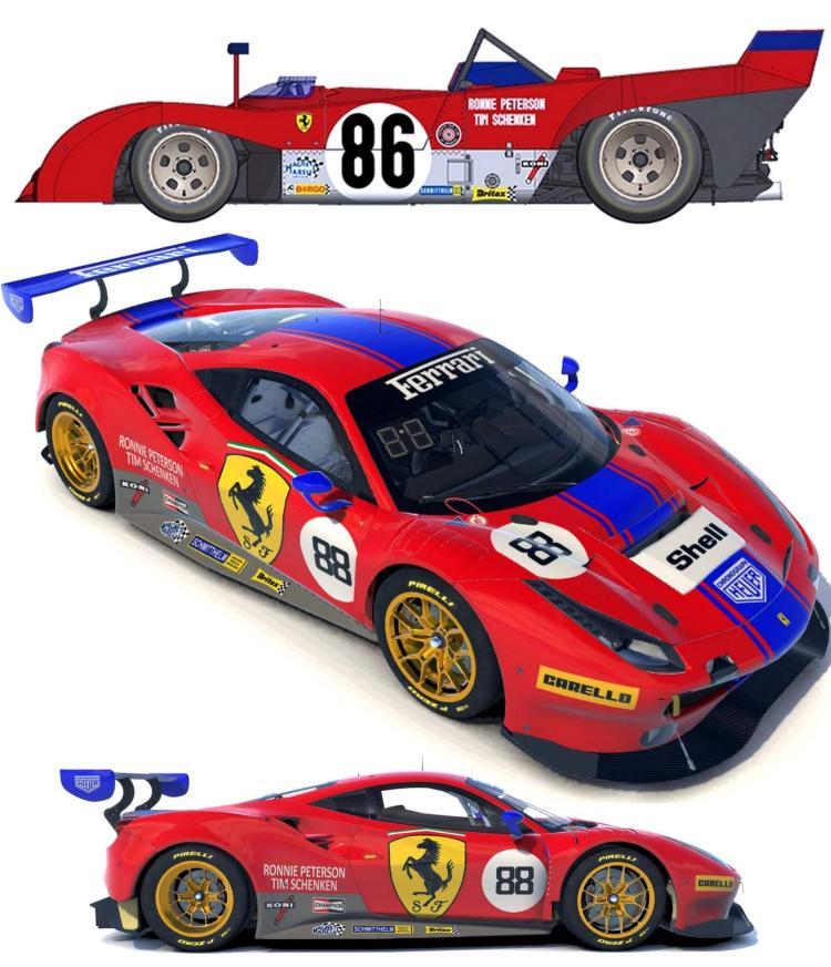 Preview of Ferrari GT3 Retro Livery by Paul V.