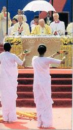 Papal Hindu Mass