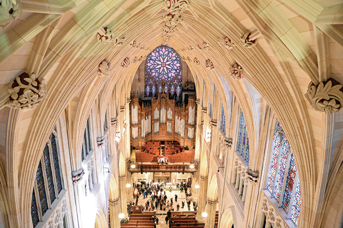 The Restoration of St Patricks Cathedral  Traditional
