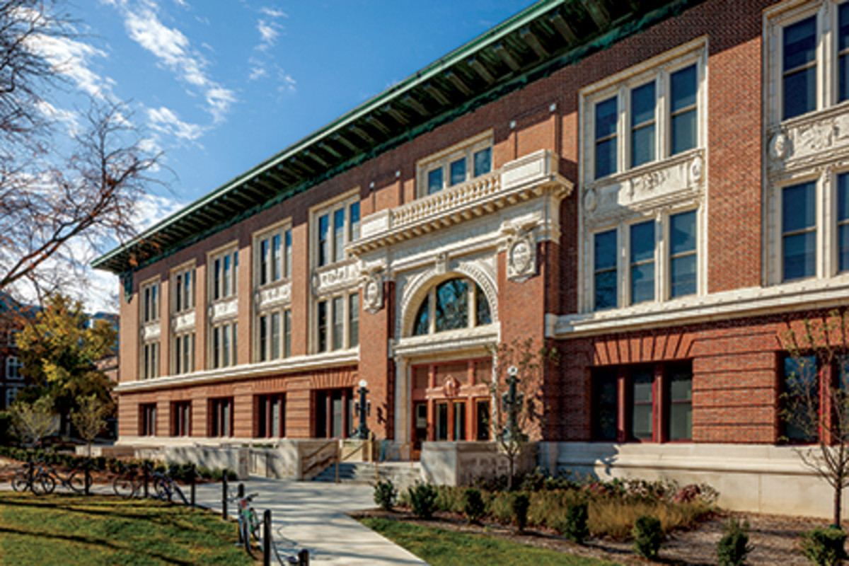 Lincoln Hall at University of Illinois is Restored