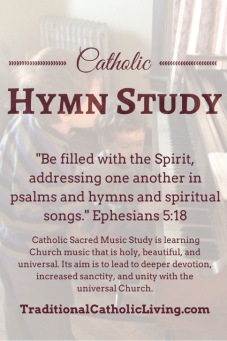 Catholic Hymn Study