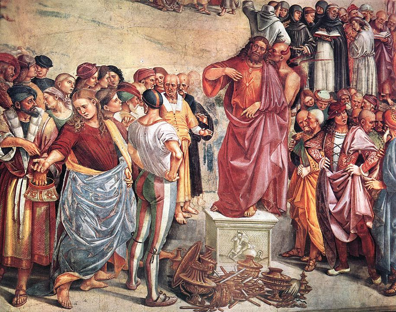 Sermon and Deeds of Antichrist_Luca Signorelli