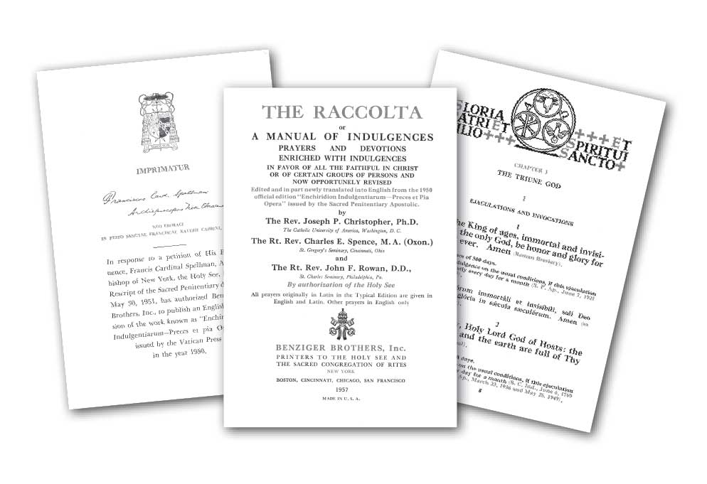 The Raccolta > Doctrine & Theology
