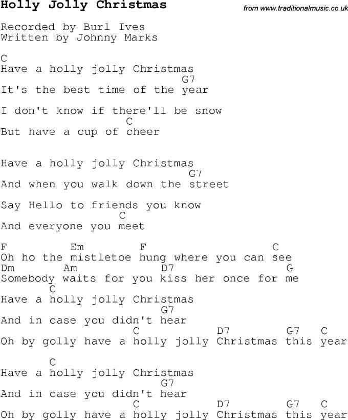 Christmas Carol Guitar Chords Christmaswalls