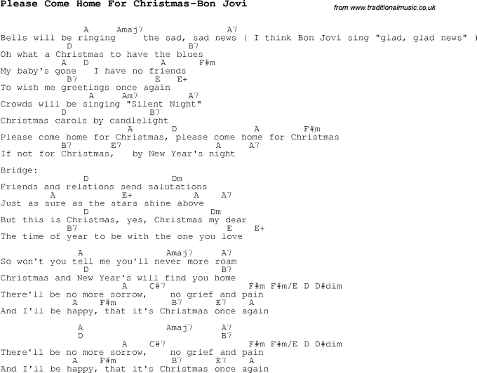 I Ll Be Home For Christmas Rascal Flatts Guitar Chords