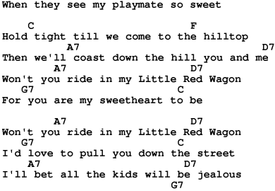 Little Red Wagon Lyrics Meaning