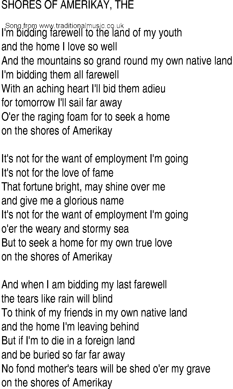 I M Going Home Lyrics