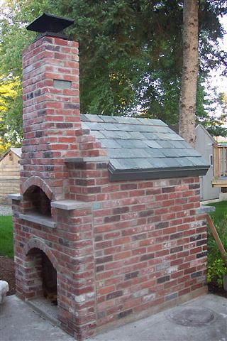Setback brick for incorporated 9x13 flue steel chimney cap