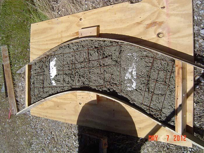Concrete garden bench  how to make