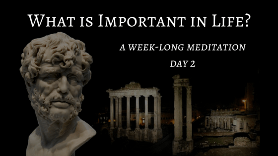 What is Important in Life – Day 2