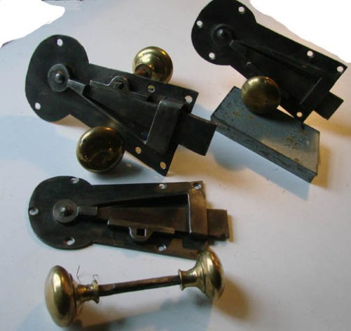 Antique Spring Latches