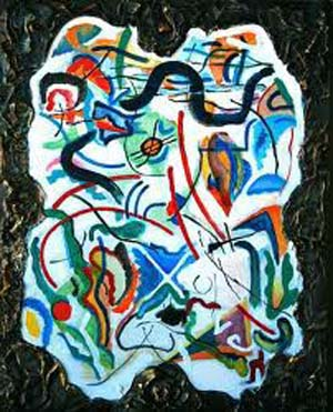 Kandinsky's abstract painting