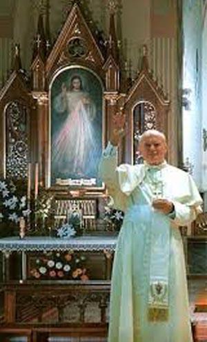 John Paul II divine Mercy devotion