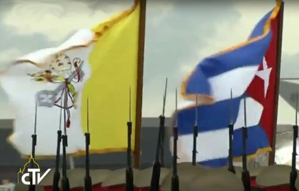 Francis visita a Cuba 01