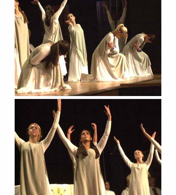 Niederauer's dancing girls