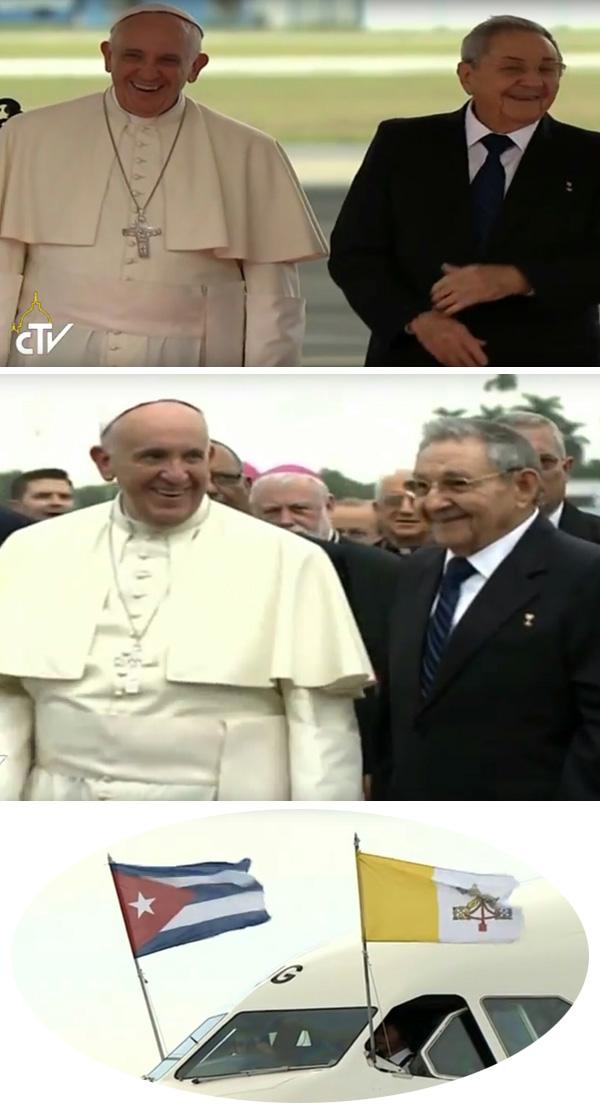 Francis visita a Cuba 03