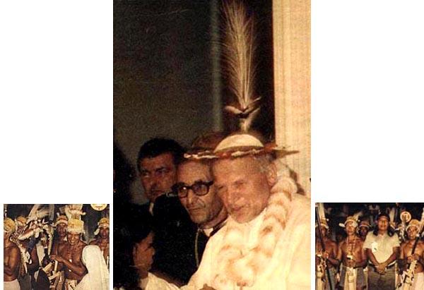 John Paul II headdress
