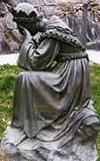 Una imagen de Nuestra llorando Señora de La Salette