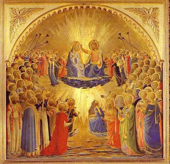 Coronation of Our Lady by Fra Angelico