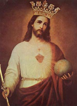 Our Lord's and His Sacred Heart