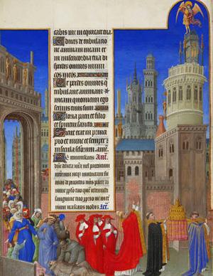 San Gregorio, procesión penitencial, la peste