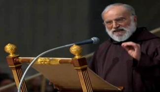 predicador del Papa, el padre. Raniero Cantalamessa