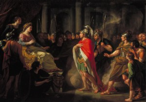 Aeneas arrives at the Court of Carthage